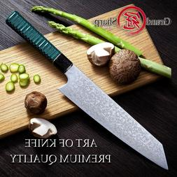 Chef's Knife 67 Layers Japanese Damascus Steel vg10 Kiritsuk