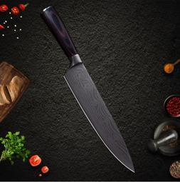 Chef Stainless Steel Knives Damascus Santoku kitchen Knives