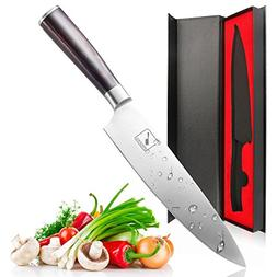 Imarku Professional 8 Inch Chefs Knife, High Carbon Stainles