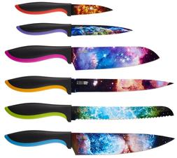 Chef's Vision 6-Piece Cosmos Series Kitchen Knife Set in B