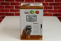 Chicago Cutlery 1119644 Fusion Forged 18piece Knife Block Se
