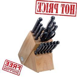 Chicago Cutlery Essentials 15-pc Block Set - 15 Piece - Stai