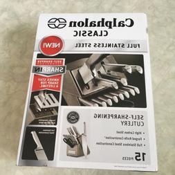 Calphalon Classic Self-Sharpening Stainless Steel 15-piece K