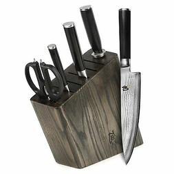 Shun Classic 6-piece Slim Knife Block Set
