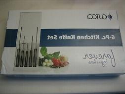 Cutco NEW 6 Pce Kitchen Knife Set 1764 3729 3721 4720 1766 &