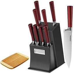 Cuisinart Cutlery Knife Block Sets with Bamboo Cutting Board