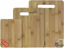 ***Totally Bamboo Cutting Board***-***versatile 3 Piece Bamb