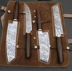 damascus handmade custom chef kitchen knives professional