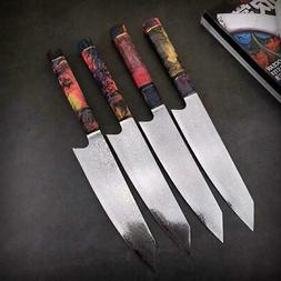 Damascus Kitchen Knives vg10 Japanese Damascus Steel Kiritsu