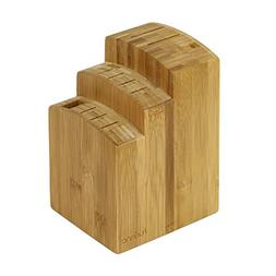 FURINNO Dapur Bamboo Knife Block, Natural