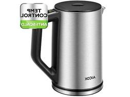 Aicok Electric Kettle - Temperature Control, Stainless Steel