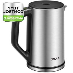 Aicok Electric Kettle Temperature Control, Stainless Steel W