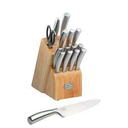 Chicago Cutlery Elston Stainless Steel 16 Piece Knife Block