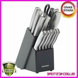 Farberware 15 Piece Artiste Collection Cutlery Knife,Block S
