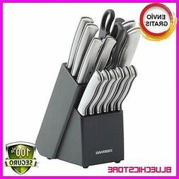 Farberware 15 Piece Artiste Collection Cutlery Knife.Block S