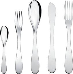 "Alessi""eatit"" Flatware Set Composed Of One Table Spoon, Tabl"
