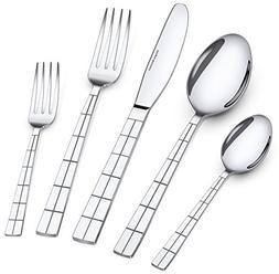 Utopia Kitchen 20 Piece Flatware Set Silverware Set Stainles
