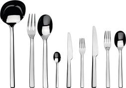 "Alessi""Ovale"" Flatware Set Of Twelve Table Spoons, Table For"
