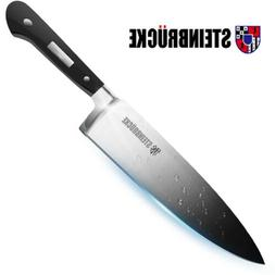 Forged 8 inch Professional Kitchen Knife Finger Guard Chef K