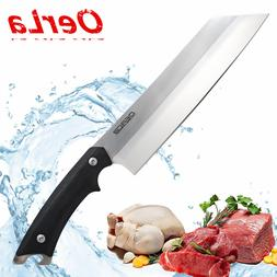 OERLA Forged Cutlery 8-Inch Blade Kitchen Chef Knife G10 Han