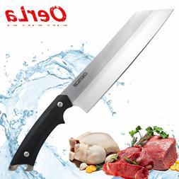 OERLA Forged Cutlery 8-Inch Blade Kitchen Chef Knife G10 Han