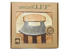 Ulu Best Gift for Pro or Amateur Chefs- Alaska Knife Birch H
