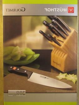 WUSTHOF Gourmet 7 piece Knife Block Set - 1777 -  NIB - Spee