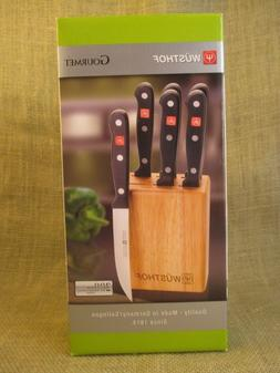 Wusthof Gourmet 7 piece Steak Knife Block Set - 8305 - NIB
