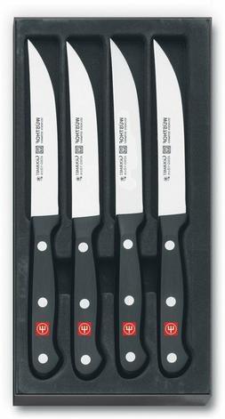 BRAND NEW Wusthof Gourmet 4 Piece Classic Steak Knife Set in