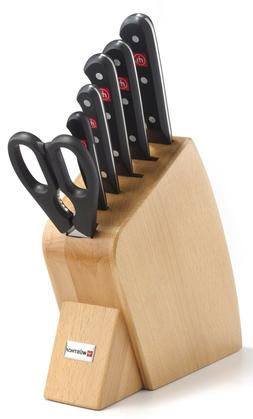 Wusthof Gourmet Seven Piece Mobile Block Knife Set - 8940 NE
