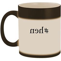 #hen - 11oz Ceramic Color Changing Heat Sensitive Coffee Mug