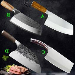 Hunters Serbian Forged Stainless Steel Chef Knife Kitchen Bu