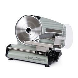 """ARKSEN 8.7""""-inch Electric Deli Meat Slicer Blade Cutter Vegg"""