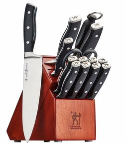 J.A. Henckels International Forged Accent 15-pc Knife Block