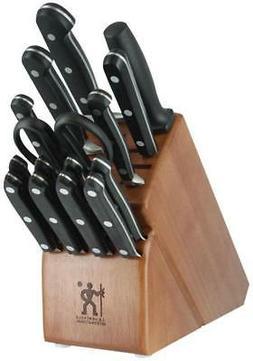 J.A. HENCKELS INTERNATIONAL CLASSIC 16-Piece Knife Block Set