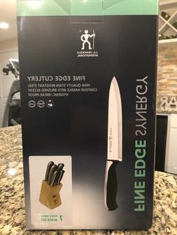 J.A. Henckels International Fine Edge Pro 7-pc Knife Block S
