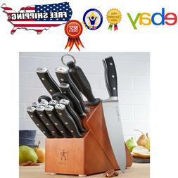 JA Henckels International 15-Piece Forged Accent Knife Block