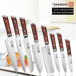 Ding Chef's Knives Set German Stainless Steel Vegetable Kitc