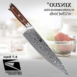 Japanese Damascus Kitchen Knives VG10 8.5'' stainless steel