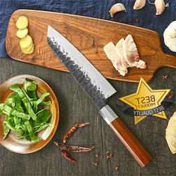 Japanese Forged Kitchen Knife Handmade Stainless Steel Chef