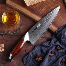Japanese Kitchen knives Damascus steel 8 inch chef knife ham