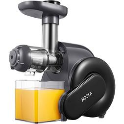 Juicer, Aicok Slow Masticating Juice Extractor with Reverse