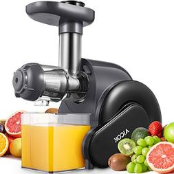 Juicer, Aicok Slow Masticating Juicer with Reverse Function,