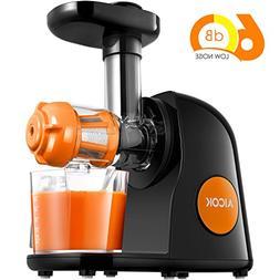 Aicok Juicer Masticating Slow Juicer, Commercial Juicer Quie