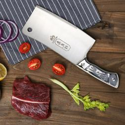 kitchen 7 cleaver chopper butcher stainless steel