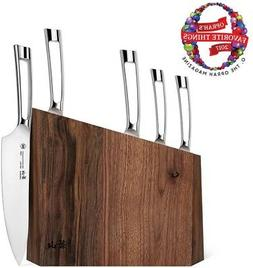 Cangshan Kitchen Assorted Knife Block Set Full Tang Stain Re