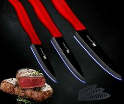 Kitchen Ceramic Cooking Knife Set Slicing Utility Paring Thr