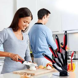 """Kitchen Ceramic Knife set 3"""" 4"""" 5"""" 6"""" inch Chef Knives With"""