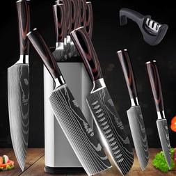 Kitchen Chef's Knives Set Stainless Steel Chopping Cleaver K