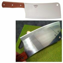 Kitchen Cleaver Meat Cutting Chopping Butcher Knife Chef Hom